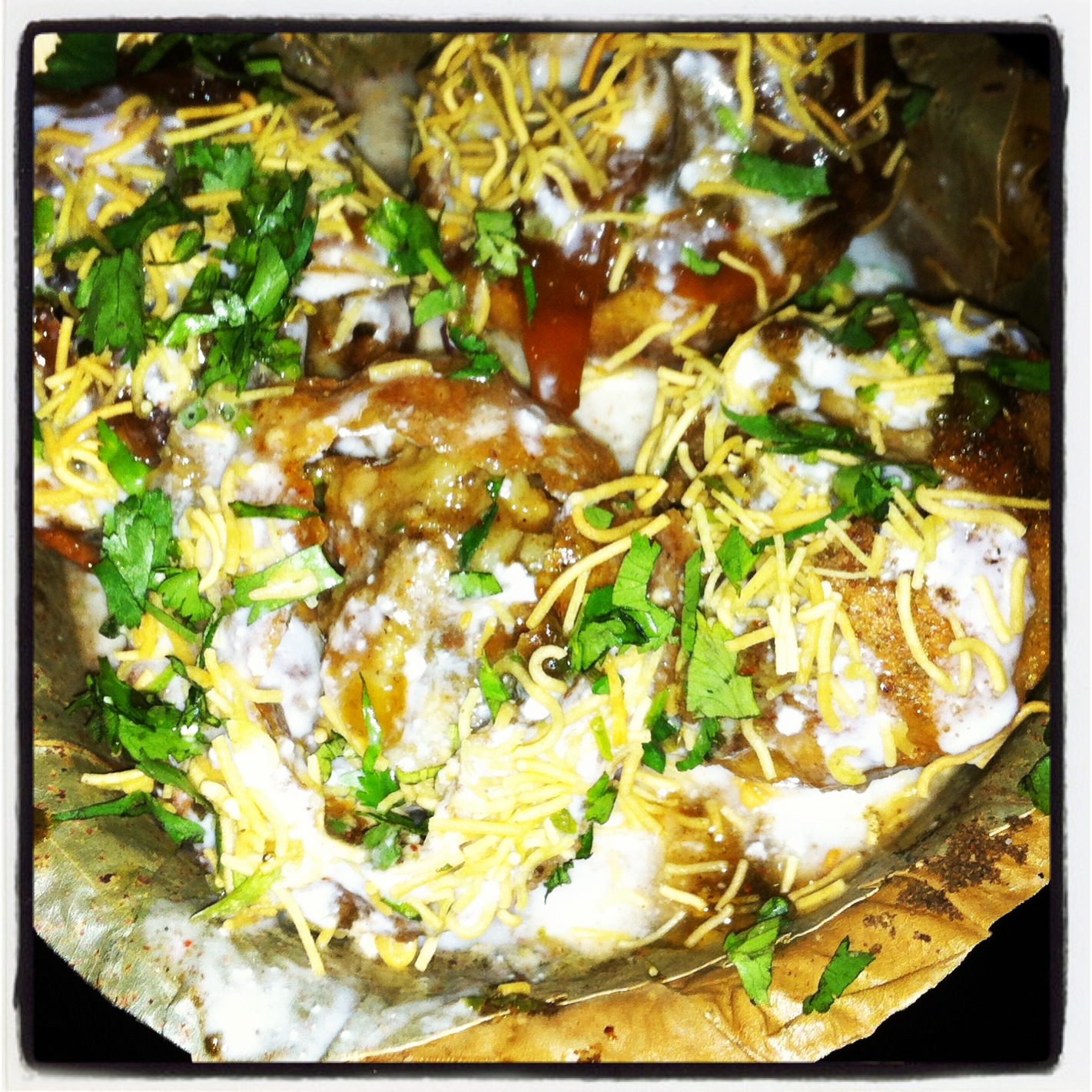 Indian street food an absolute delight shrimoyees scrapbook dahi phuchka forumfinder Images