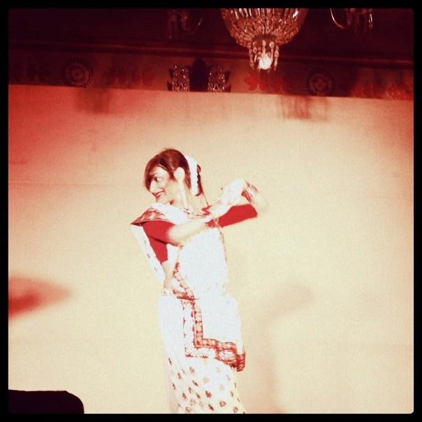 My dance performance