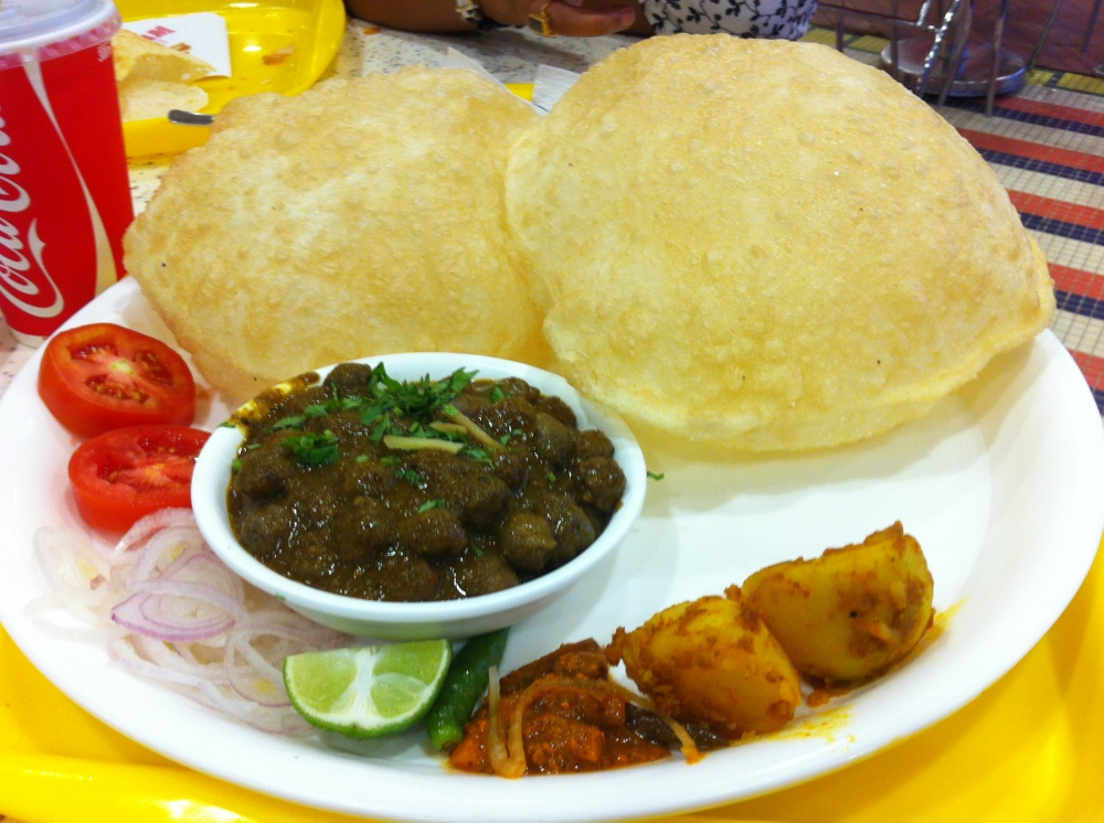 Chole Bature - A veggie delight!