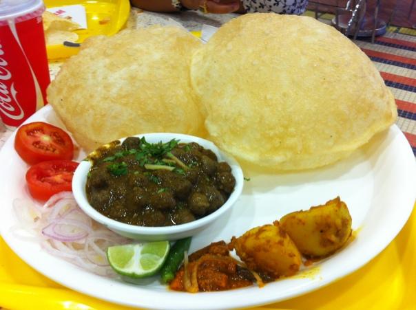 Chole Bature - A veggie delight!