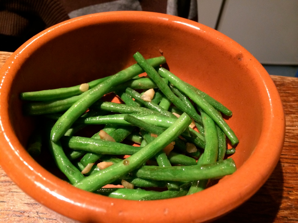 Stir fried Beans