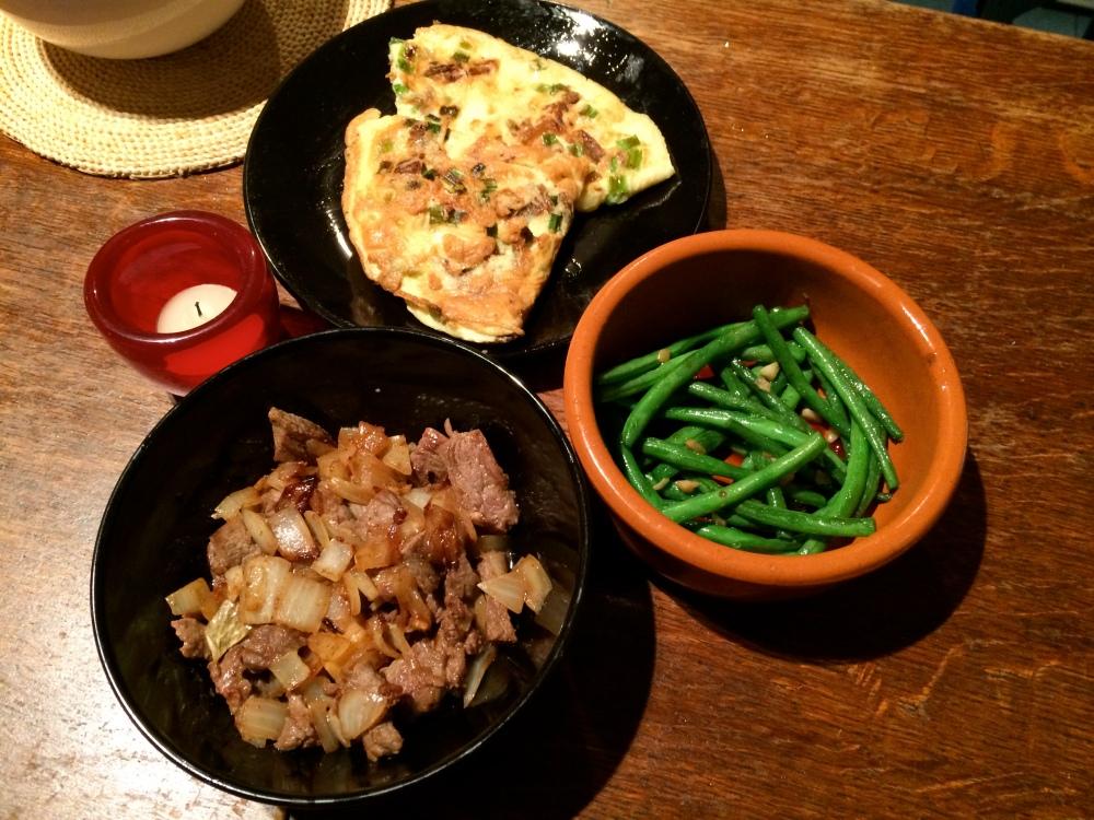 Chinese- Spanish Omelet