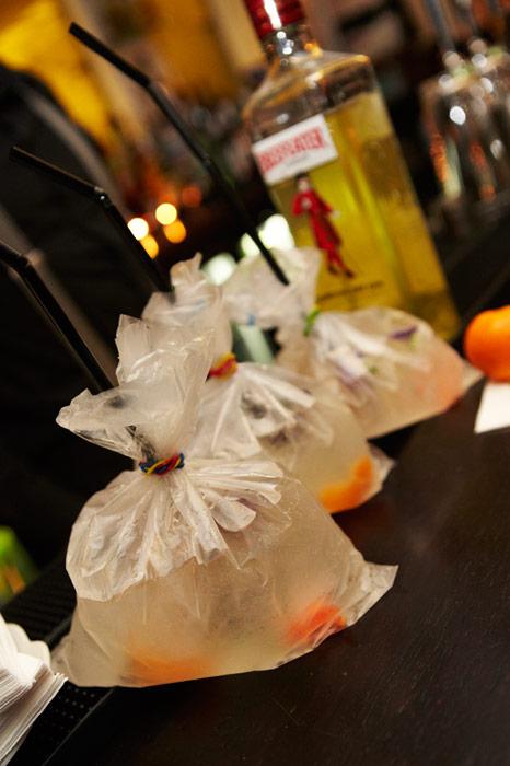 Mandarin Gin and Tonics