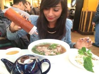 Vietnamese Food at China Town