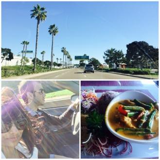 Thai Food followed by a drive