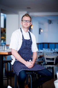 Luke, Head Chef at Bonnie Gull