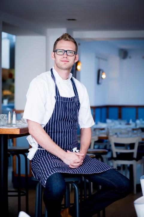Luke, Head Chef at Bonnie Gull