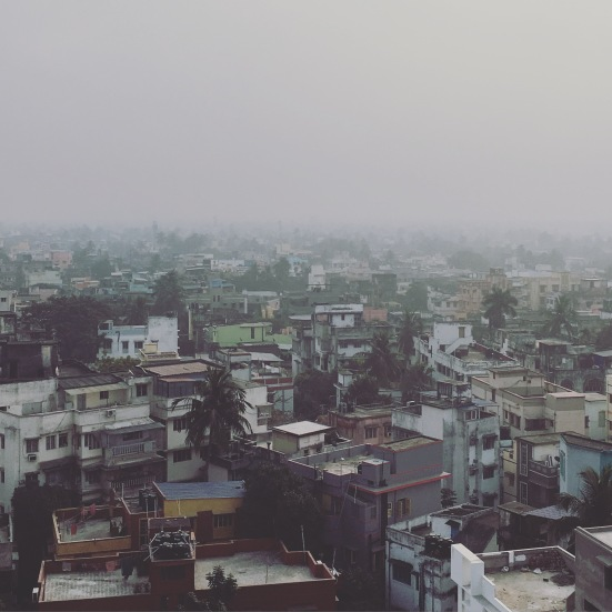View from 33 Gariahat Road (my family home)
